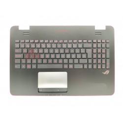 Carcasa superioara cu tastatura iluminata Laptop, Asus, ROG N551, N551J, N551JW, 90NB06R2-R30300, layout SP