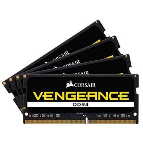 CORSAIR Memorie notebook Corsair Vengeance, 8GB, DDR4, 2400MHz, CL16, 1.2v (CMSX8GX4M1A2400C16)