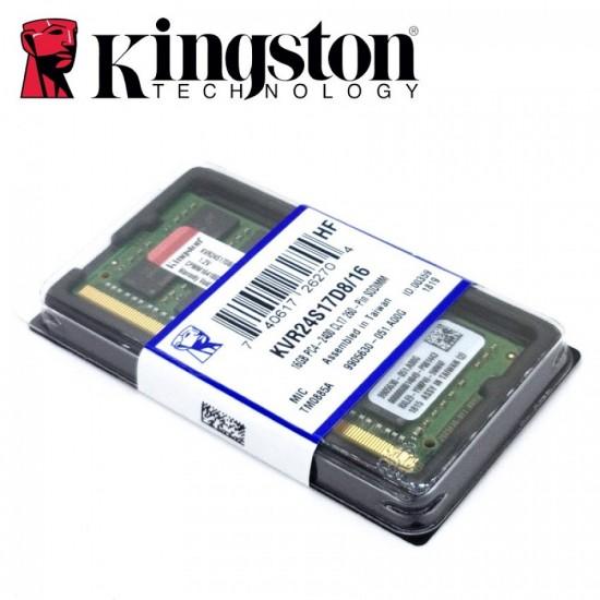 Memorie Laptop Kingston KVR24S17D8/16, 16GB, DDR4, 2400MHz, CL17