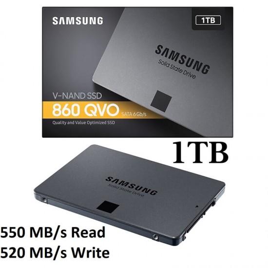 SSD Samsung 860 QVO 1TB SATA3, MZ-76Q1T0BW Hard disk-uri noi