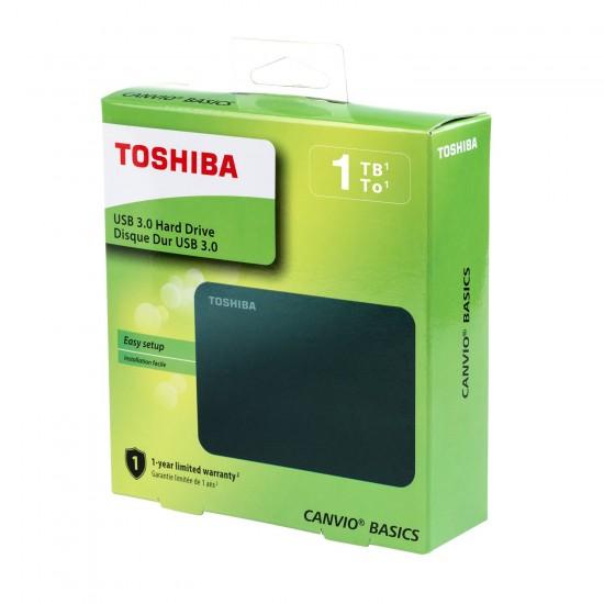 Hard disk extern Canvio Basics 1TB 2,5 HDTB410EK3AA Hard disk-uri noi
