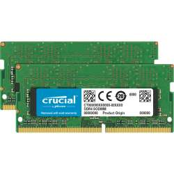 Kit 64GB (2x32GB) DDR4-2666Mhz SODIMM 1.2V CL19 Crucial CT2K32G4SFD8266