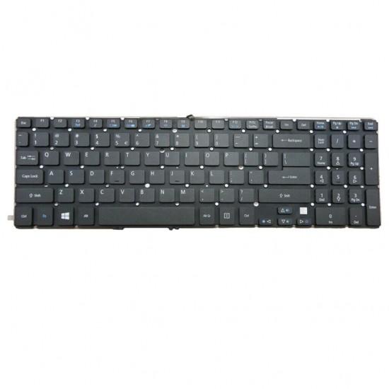Tastatura laptop, Acer, Aspire V7-581, V7-582, V582, VN7-571, fara rama, iluminata, us Tastaturi noi