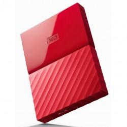 Hard Disk Extern WD My Passport, 4TB, USB 3.0, Rosu