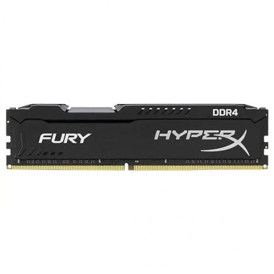 KINGSTON DRAM 8GB 2666MHZ DDR4 CL16 DIMM 1RX8 HYPERX FURY BLACK Memorii RAM Desktop