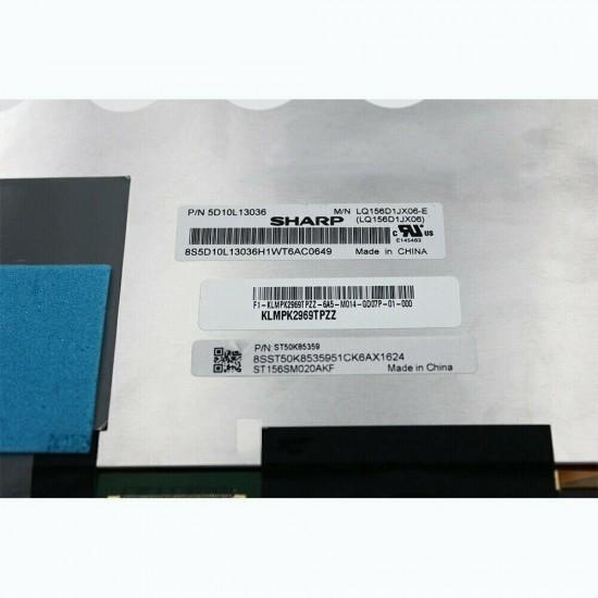 Ansamblu display cu touchscreen Laptop, Lenovo, Yoga 710-15, LQ156D1JX06, 5D10L13036, 15.6 inch, 4K UHD, 40 pini Display Laptop