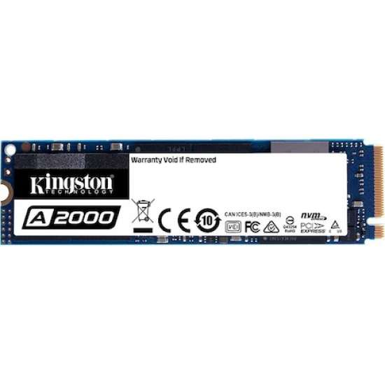 Solid-State Drive (SSD) Kingston A2000, 1TB, NVMe, M.2 SSD