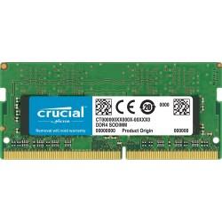 Memorie Laptop RAM Crucial SODIMM 8GB DDR4 2666Mhz 1.2V CL19 CT8G4S266M