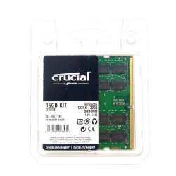 Kit Memorie Laptop RAM Crucial SODIMM 16GB (2x8GB) DDR4 3200Mhz 1.2V CL22 CT2K8G4SFRA32A