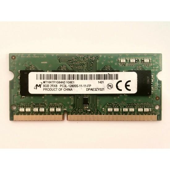 Memorie laptop Micron 8GB DDR3L PC3L-12800S 1600Mhz MT16KTF1G64HZ-1G6E1 Memorie RAM Noua
