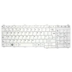 Tastatura Laptop, Toshiba, Satellite C655, C650, C650D, L650D, L655, L655D, alba