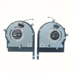 Set coolere Laptop Asus ROG FX80, FX80G, FX80GE, FX80FE, ZX80GD CPU GPU refurbished