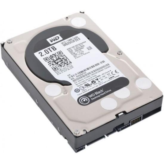 "Hard disk Western Digital Black 2TB 7200RPM 64MB 3.5"" WD2003FZEX, second hand Hard disk-uri noi"