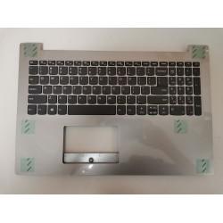 Carcasa superioara cu tastatura palmrest Laptop, Lenovo, 330-15, 330-15IKB, 330-15AST, 330-15IGM, 330-15ISK, SN20N0459116, argintiu