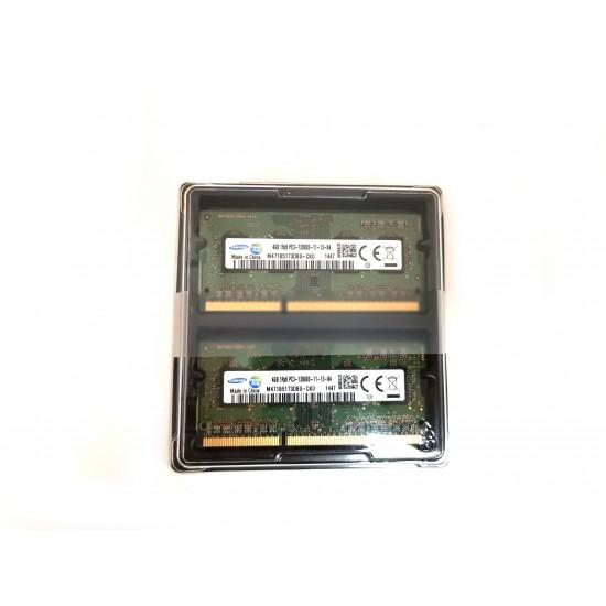 Kit Memorie Laptop 2X4GB (8GB), Samsung, PC3-12800S-11-13-B4 M471B5173DB0-CK0, 1.5V, 1600Mhz Memorie RAM Noua