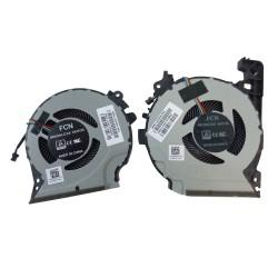Set coolere Laptop, HP, Pavilion 15-CX, 15-cx0061tx, 15-cx0064tx 15-cx0068tx 15-cx0072tx 15-cx0020nr, 15-cx0030nr, 15-cx0045nr, 15-cx0058wm, TPN-C133, L20335-001, 4 pini