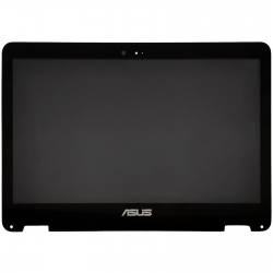 Ansamblu display cu touchscreen Laptop, Asus, ZenBook UX360, UX360C, UX360CA, LTN133YL03-P01, 3200x1800 QHD 40 pini, refurbished