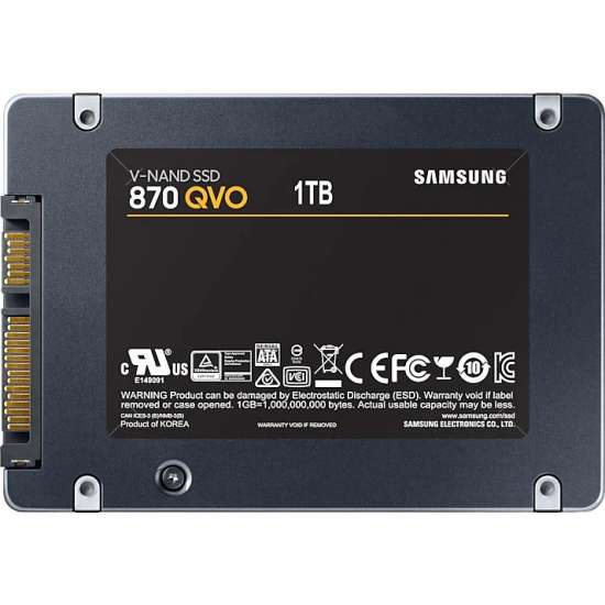 Solid-State Drive (SSD) Samsung 870 QVO, 1TB, SATA III, 2.5 inch SSD