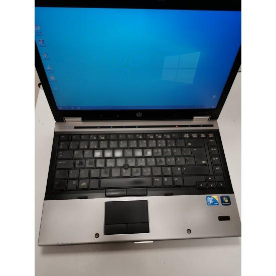 Laptop HP EliteBook 8440p SSD 128gb, 8GB RAM, Intel I5, Windows 10 PRO, second hand Laptopuri sh