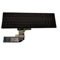 Tastatura Laptop, HP, Envy 15-K, 15-K000, M7-K, cu iluminare rosie, layout UK