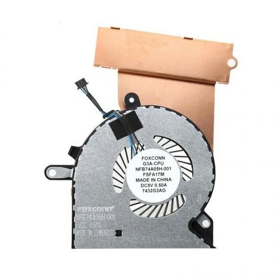 Cooler laptop, HP, Omen 15-CE, 17-AN, TPN-Q194, 929455-001, NFB74A05H-001, CPU