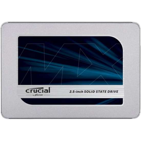 Solid-State Drive (SSD) CRUCIAL MX500, 500GB, 2.5inch