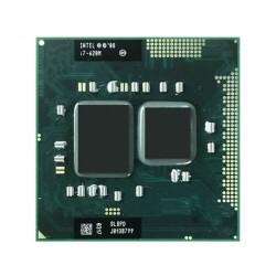Procesor laptop Intel I7-620M 2.66GHz up to 3.33GHz, 4MB, PGA988, SLBTQ, sh