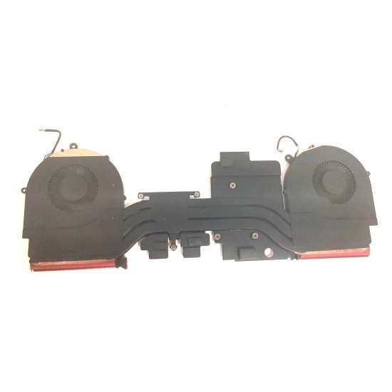Set coolere cu radiator Laptop, Asus, ROG Strix GL503G, GL503GE, 13NR0082AP0301, NS7CC02-17L13, NS7CC01-17L10, 12V 0.5A Cooler Laptop