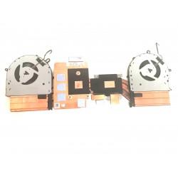 Set coolere cu radiator Laptop, Asus, ROG Strix GL503G, GL503GE, 13NR0082AP0301, NS7CC02-17L13, NS7CC01-17L10, 12V 0.5A