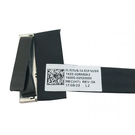 Cablu video lvds Laptop, Asus, Rog GL503, GL503V, GL503VS, GL503VM, GL503VD, 1422-02RM0A2, 14005-02520000, 30 pini Cablu video LVDS laptop