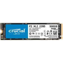 Solid State Drive (SSD) Crucial P2, 500GB, NVMe, M.2.