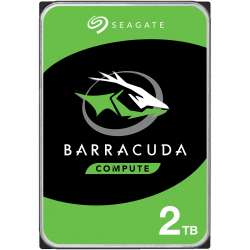 HDD Seagate BarraCuda, 2TB, 7200rpm, 256MB cache, SATA-III