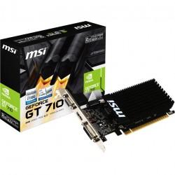 Placa video MSI GeForce® GT 710, 2GB DDR3, 64-bit