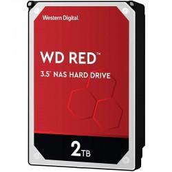Western Digital HDD Intern, Red NAS 3.5 inch, 2TB, SATA3, 5400RPM, 256MB (WD20EFAX)