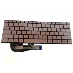 Tastatura Laptop, Asus, ZenBook 3 UX390, UX390UA, UX390UAK, iluminata, us, fara rama
