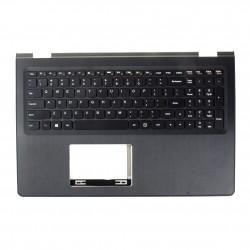 Carcasa superioara cu tastatura palmrest Laptop, Lenovo, Yoga 500-15IBD, 500-15ISK, 500-15IHW, 5CB0J34034, 5CB0H91148, iluminata, US