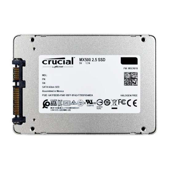"Solid-State Drive (SSD) CRUCIAL MX500, 1TB, 2.5"" Hard disk-uri laptop"