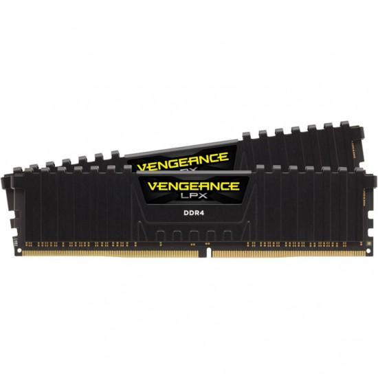 Memorie Corsair Vengeance LPX 8GB (2x4GB), DDR4 3000MHz, CL16, 1.35V, black, XMP 2.0 Memorie RAM laptop