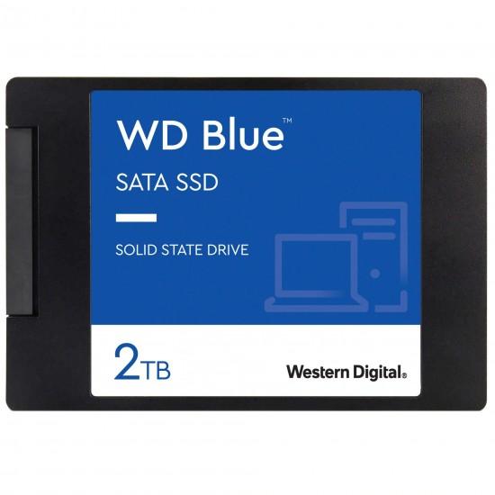 Solid State Drive (SSD) Western Digital Blue 3D, 2TB, 2.5 inch, SATA III SSD