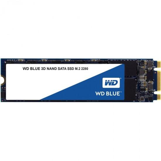 SSD Western Digital Blue SSD M.2 SATA 250GB SATA/600, 550/525 MB/s, 3D NAND Hard disk-uri noi