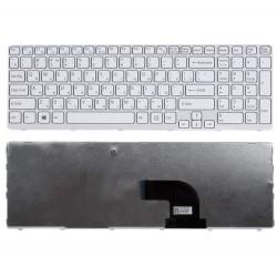 Tastatura Laptop, Sony, Vaio SVE15, SVE1512D4E, SVE151C11M, SVE1512C1R, alba, sh